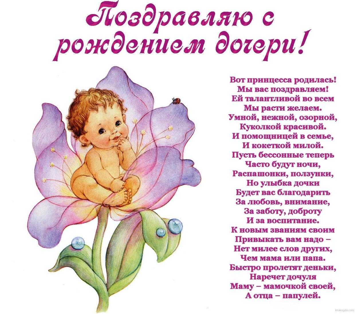 Поздравления с маме с днем рождения дочки